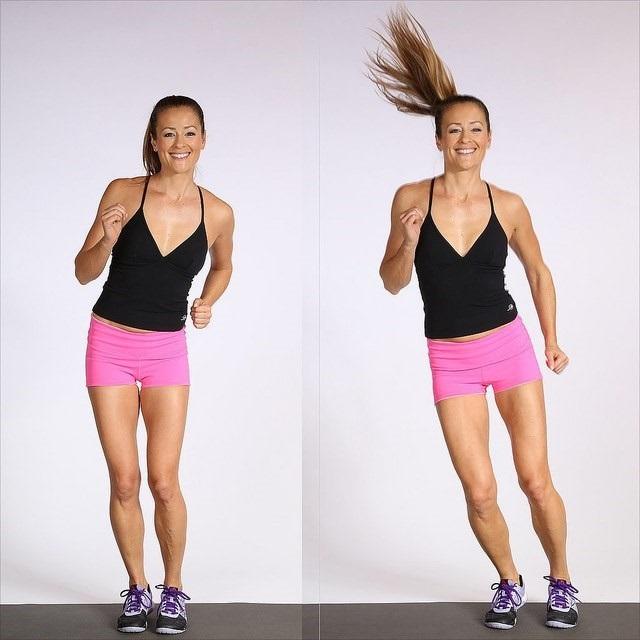 Nhảy sang hai bên - Bài tập aerobic giảm mỡ bụng cho người mới tập
