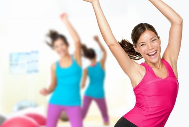 Lắc eo - Bài tập Aerobic giảm mỡ bụng cho người mới tập