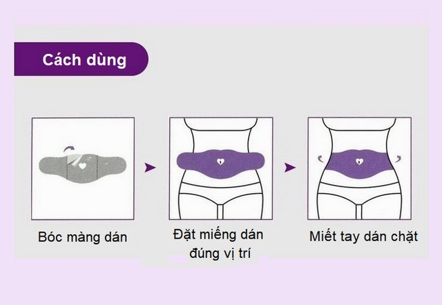 Cách sử dụng miếng dán tan mỡ bụng Spa GelPatch