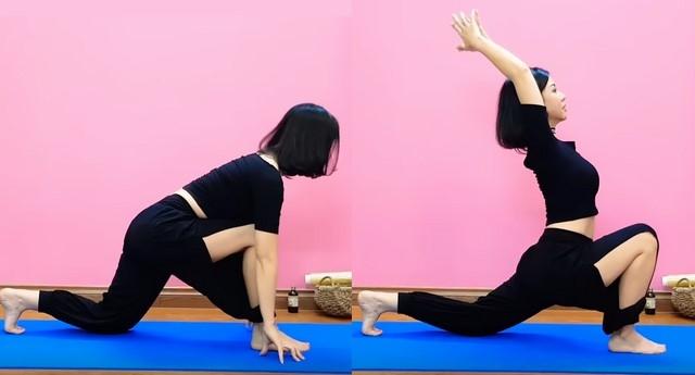 Yoga giảm mỡ bụng dưới Nguyen Hieu - Bài 3