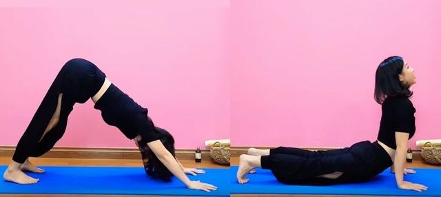 Yoga Nguyễn Hiếu giảm mỡ bụng dưới - Bài tập 4