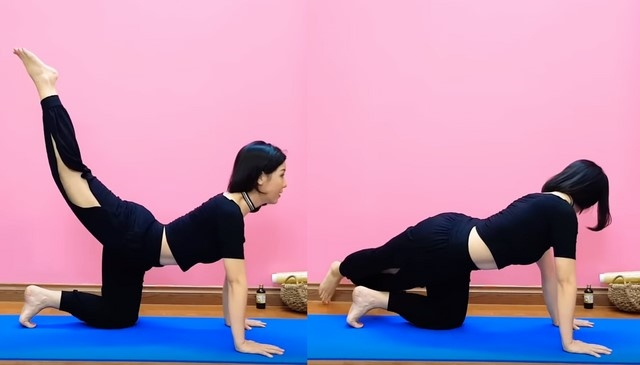 Yoga giảm mỡ bụng dưới Nguyen Hieu- Bài 5