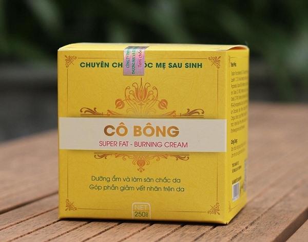 [Review] Kem tan mỡ bụng Cô Bông có thực sự hiệu quả?