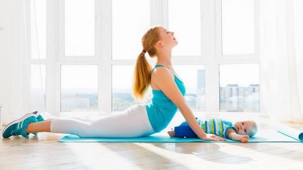 Bài tập giảm mỡ bụng sau sinh mổ: Yoga