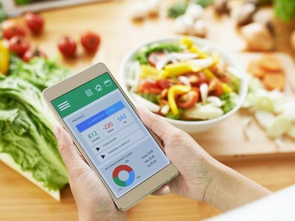 Hãy sử dụng các phần mềm kiểm soát calo tiêu thụ để hỗ trợ quá trình giảm cân
