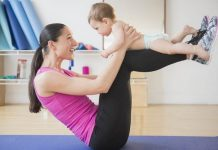 Tập luyện là cách bắt buộc nếu bạn muốn giảm mỡ bụng sau sinh tại nhà nhanh chóng và hiệu quả