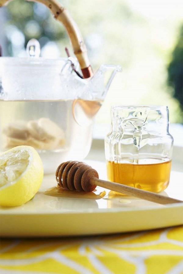 Giảm mỡ bụng sau sinh tại nhà bằng chanh mật ong cực đơn giản