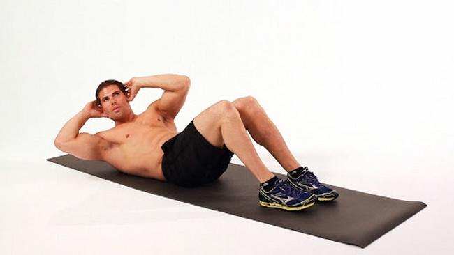Bài tập Crunch giảm cân cho nam