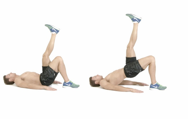 Bài tập Leg Raise giảm cân cho nam