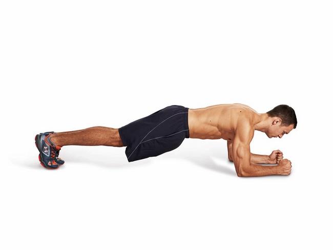 Bài tập Plank giảm cân cho nam