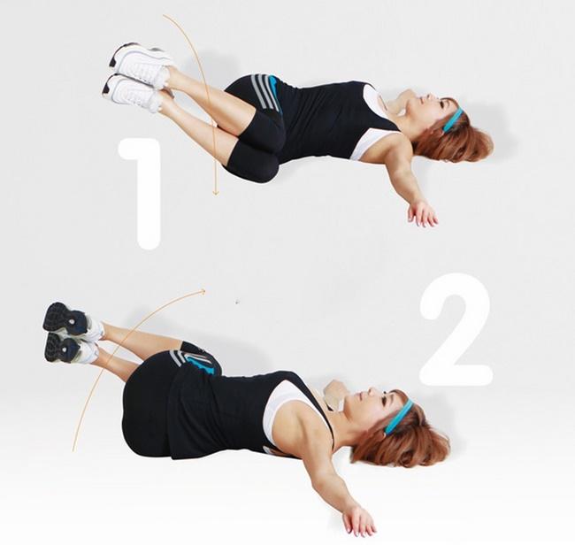 Bài tập thể dục giảm béo mỡ bụng dưới hiệu quả