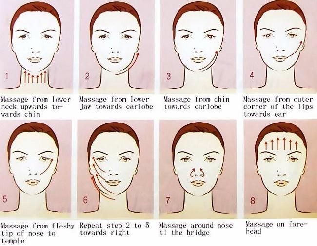 Các bước massage giảm mỡ mặt đơn giản và hiệu quả