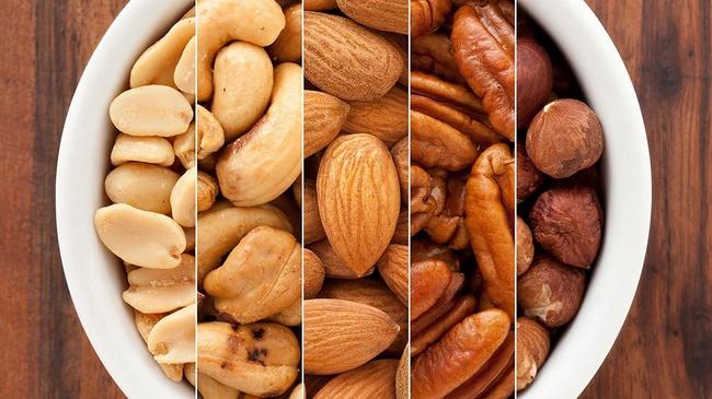 Các loại hạt giảm cân nhờ khả năng làm đầy lâu