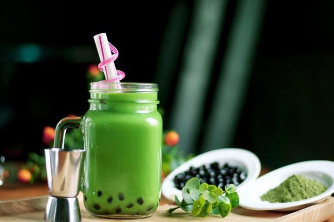 Cách làm trà sữa matcha giảm cân