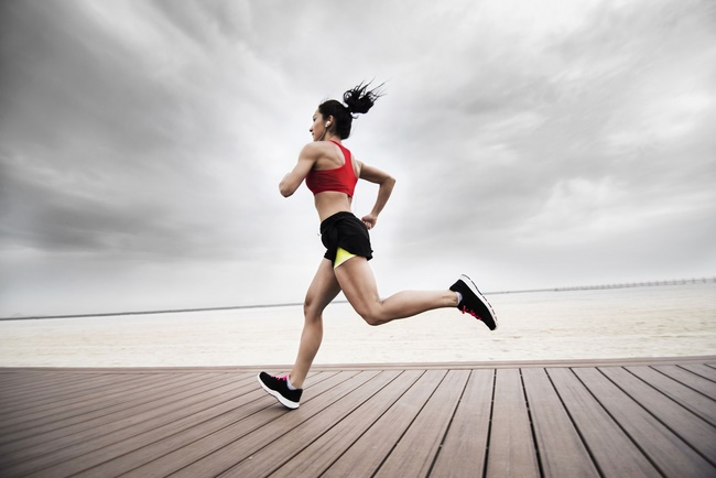 Chạy bộ giảm mỡ bụng và đùi hiệu quả