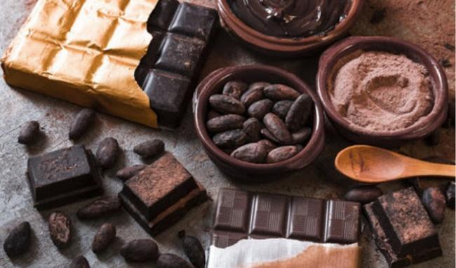 Chocolate đen giảm mỡ mặt