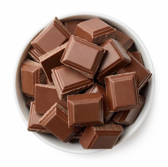 Chocolate nguyên chất có khả năng đốt cháy lượng calo lớn