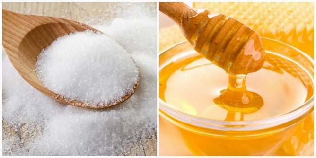 Công thức tẩy tế bào chết bằng đường và mật ong