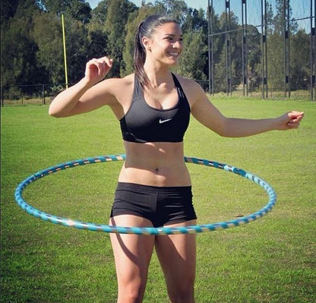 Lắc vòng giảm mỡ bụng hiệu quả chỉ sau 1 tuần thực hiện