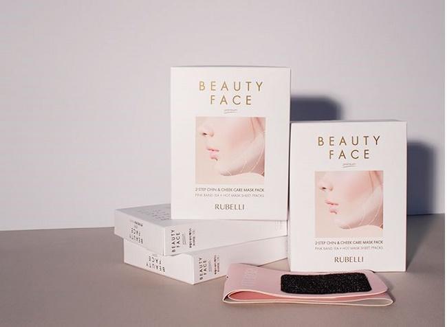 Mặt nạ Rubelli Beauty V-line Face giảm mỡ mặt hiệu quả