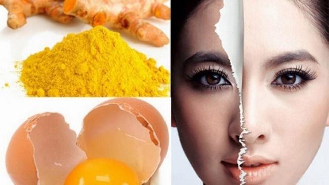 Mặt nạ nghệ trứng gà - vị cứu tinh cho làn da khuyết điểm