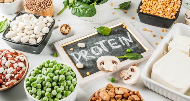 Nạp đủ Protein trong quá trình tập Gym tăng cơ bắp, phát triển cơ thể