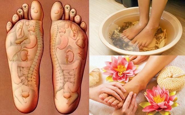 Ngâm chân để làm thon gọn bắp chân, còn tốt cho sức khỏe