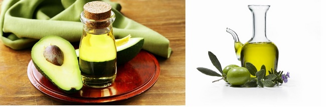 Tẩy tế bào chết bằng dầu oliu và đường nâu, bơ