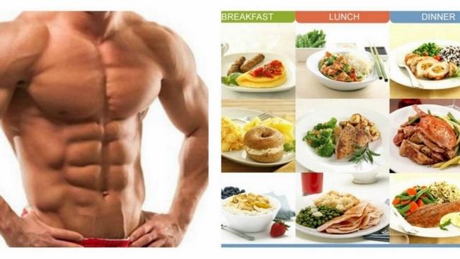 Thực đơn cho người tập Gym giảm cân nam