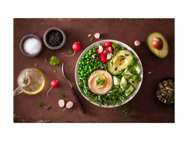 Thực đơn giảm cân trong 1 tháng Eat Clean tuần 1