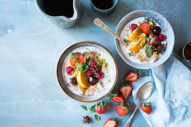 Thực đơn giảm cân trong 1 tháng Eat Clean tuần 4