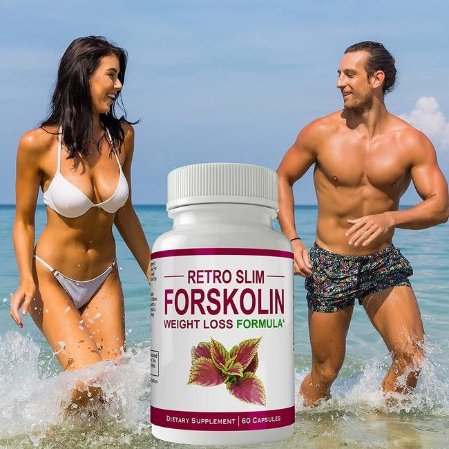 Thuốc uống giảm mỡ bụng Retro Slim Forskolin