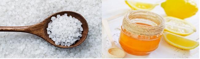 Trị mụn đầu đen hiệu quả bằng chanh, mật ong và muối