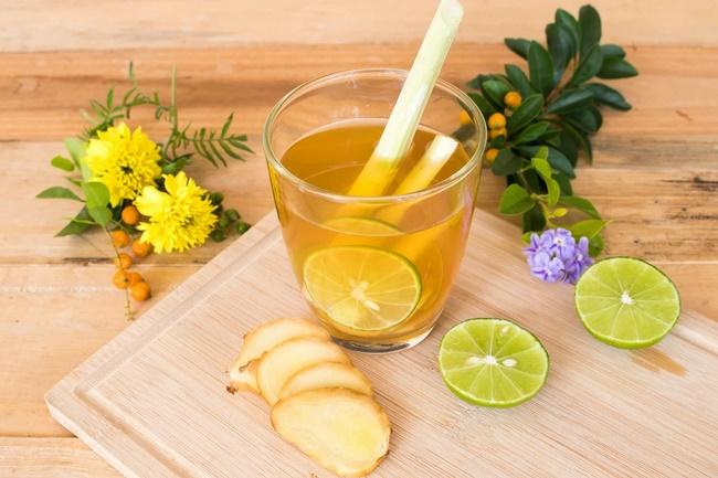 Uống nước chanh mật ong gừng giảm cân