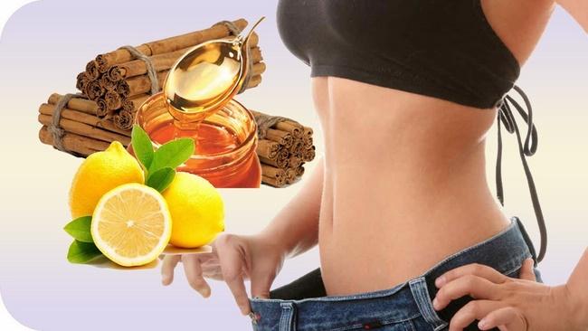 Uống nước chanh mật ong giảm cân