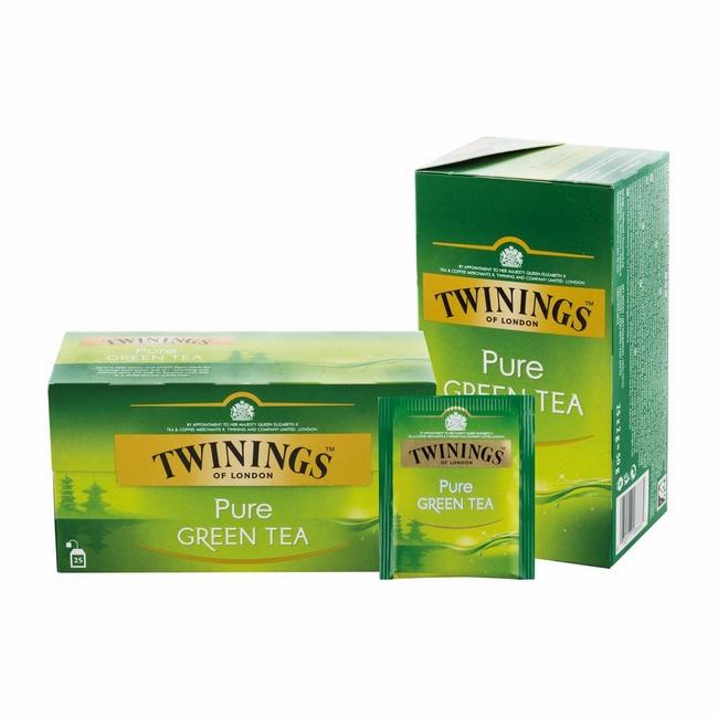Uống trà xanh Twinings giảm mỡ bụng