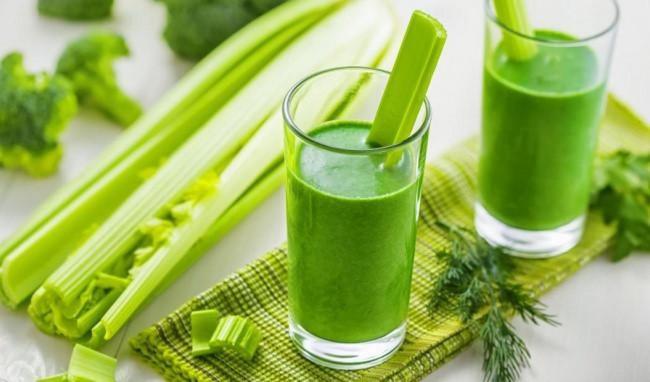 Uống nước ép cần tây giảm béo, tăng cường sức khỏe tốt