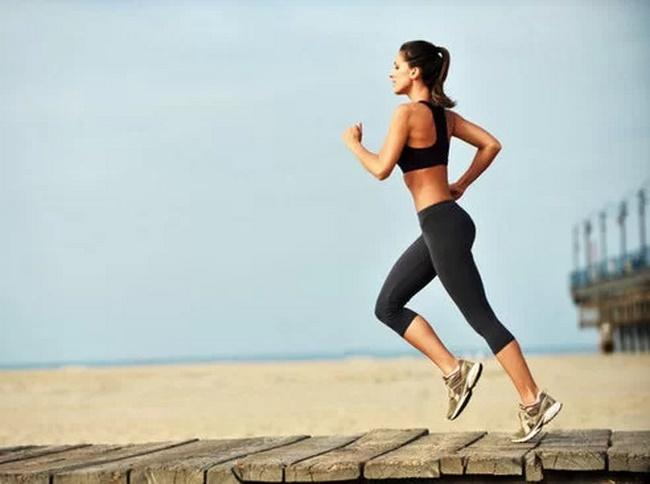 Chạy bộ đốt cháy năng lượng giúp giảm béo hiệu quả