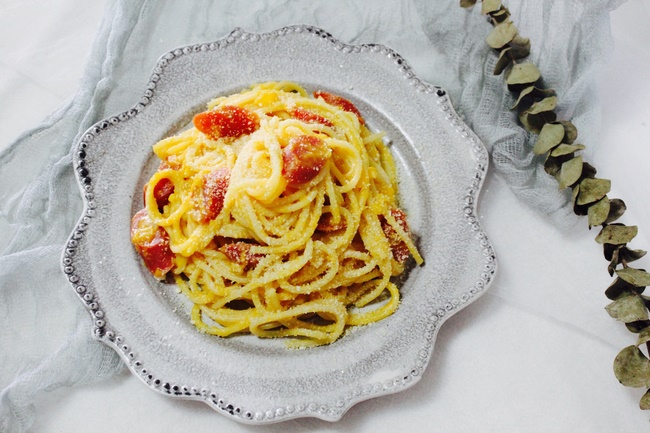 Ăn Spaghetti bí giảm cân cấp tốc