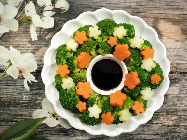 Ăn rau luộc giảm cân và tăng cường sức khỏe