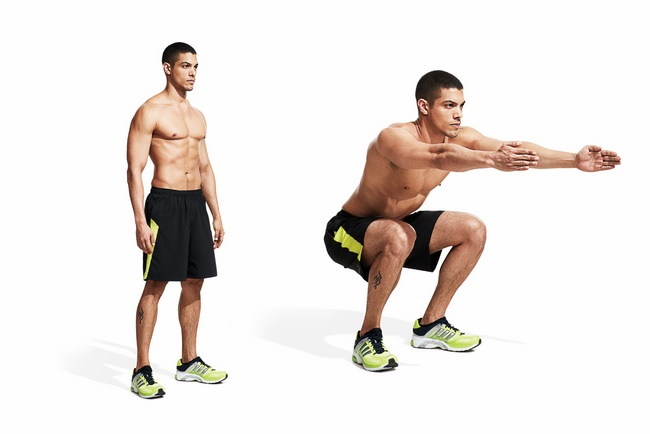 Bài tập Body Weight Squat