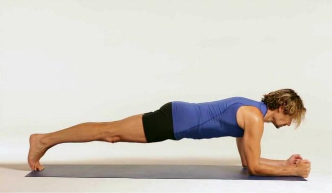 Bài tập Plank giảm mỡ hông cho nam hiệu quả