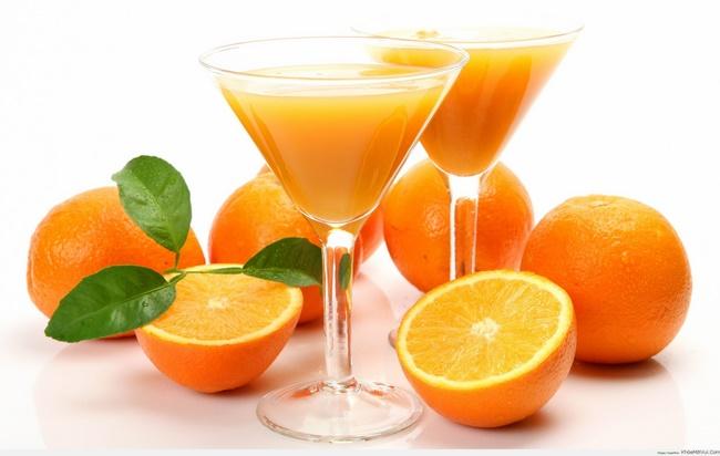 Bất ngờ với công dụng uống nước cam giảm cân tại nhà