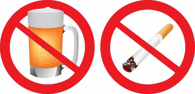 Bỏ thuốc lá rượu bia để giảm lượng mỡ nội tạng, cải thiện sức khỏe tốt
