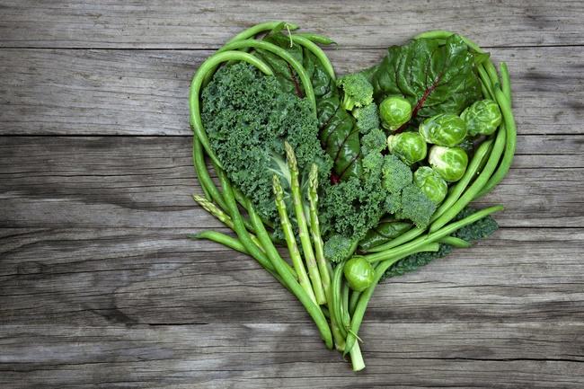 Các loại rau có lá xanh đều là thực phẩm lành mạnh giúp giảm cân cao