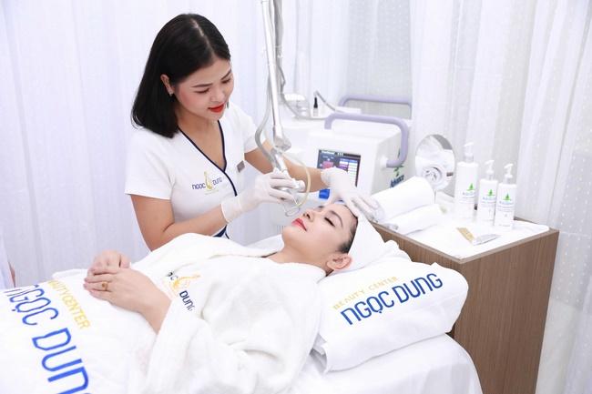 Điều trị da bằng công nghệ cao tại thẩm mỹ viện Ngọc Dung