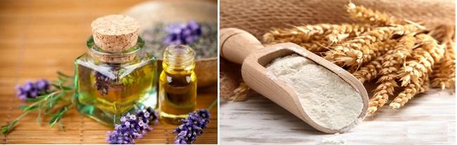 Điều trị mụn bằng bột yến mạch và tinh dầu