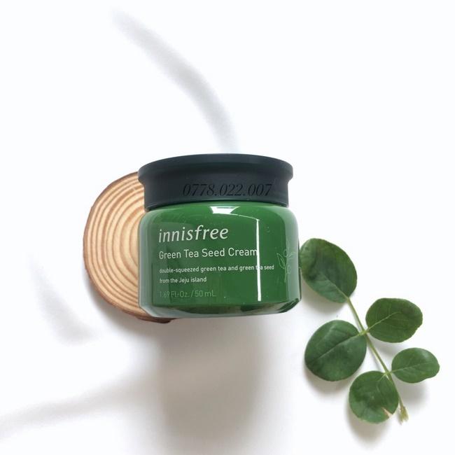 Kem chống lão hóa Innisfree Green Tea Seed Cream 50ml