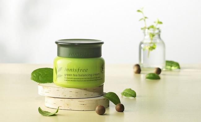 Kem chống lão hóa Innisfree Green tea balancing cream EX 50mL