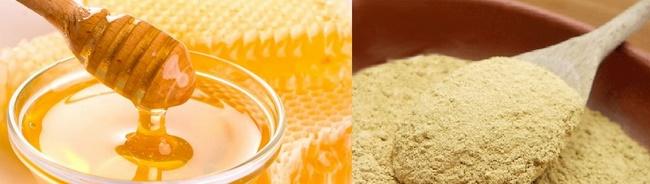 Mặt nạ thuốc bắc làm trắng da với mật ong
